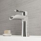 Paloma Single Hole Bathroom Faucet In Chrome