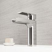 Ileana Single Hole Bathroom Faucet In Chrome