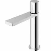 VIGO Halsey Single Hole Bathroom Faucet in Chrome, Faucet Height: 6-3/8'' Spout Height: 4-3/8'' Spout Reach: 5-1/4