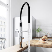 Norwood Magnetic Spray Kitchen Faucet With Soap Dispenser In Chrome