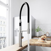 Norwood Magnetic Spray Kitchen Faucet in Stainless Steel