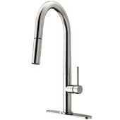 Greenwich Pull-Down Spray Kitchen Faucet in Stainless Steel