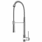 Laurelton Pull-Down Spray Kitchen Faucet In Chrome, : Faucet Height 22-3/8'' , Spout Reach: 9-3/8''
