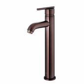 Oil Rubbed Bronze Finish Bathroom Vessel Faucet