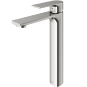 Norfolk Vessel Bathroom Faucet in Brushed Nickel, Spout Reach: 5-3/4'', Spout Height: 8-5/8'', Faucet Height: 10-3/4''