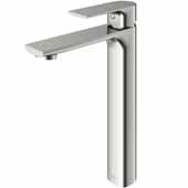 Norfolk Vessel Bathroom Faucet in Brushed Nickel, Spout Reach: 5-3/4', Spout Height: 8-5/8', Faucet Height: 10-3/4'