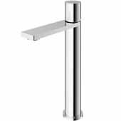 VIGO Gotham Vessel Bathroom Faucet in Chrome, Faucet Height: 10-3/4'' Spout Height: 8-5/8'' Spout Reach: 5-3/4''
