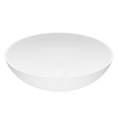 Lotus Matte Stone™ Vessel Bathroom Sink, 16''Diameter X 4-1/2''H, ADA Compliant