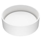 Anvil Matte Stone™ Vessel Bathroom Sink, 16''Diameter X 4-1/2''H, ADA Compliant