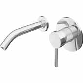 Olus Bathroom Faucet, Chrome, Spout Reach: 7-1/8'