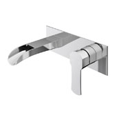 Cornelius Wall Mount Bathroom Faucet In Chrome