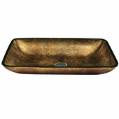 Copper Glass Vessel Sink