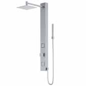 Orchid Shower Massage Panel in Stainless Steel
