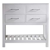 Caroline Estate 36'' Single Bathroom Vanity Cabinet, White