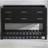 Caroline Estate 48'' Single Bathroom Vanity Cabinet, Espresso