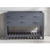 Caroline Estate 48'' Single Bathroom Vanity Cabinet, Grey
