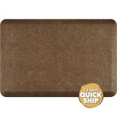 Granite Collection 3' x 2' Anti-Fatigue Floor Mat in Granite Copper, 36'' W x 24'' D x 3/4'' Thick