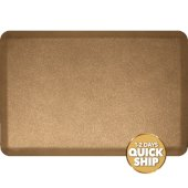 Granite Collection 3' x 2' Anti-Fatigue Floor Mat in Granite Gold, 36'' W x 24'' D x 3/4'' Thick