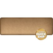 Granite Collection 6' x 2' Anti-Fatigue Floor Mat in Granite Gold, 72'' W x 24'' D x 3/4'' Thick
