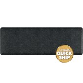 Granite Collection 6' x 2' Anti-Fatigue Floor Mat in Granite Onyx, 72'' W x 24'' D x 3/4'' Thick