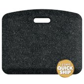 Granite Collection CompanionMat 18'' W x 22'' D Anti-Fatigue Floor Mat in Granite Onyx, 18'' W x 22'' D x 3/4'' Thick
