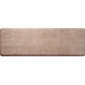 Croc Collection 6' x 2' Anti-Fatigue Floor Mat in Sand Dollar with White on Tan Base, 72'' W x 24'' D x 3/4'' Thick