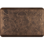 3'x2' Estates Collection Essential Series Bronze Color Floor Mats with Bella Pattern, 36'' W x 24'' D x 3/4'' H