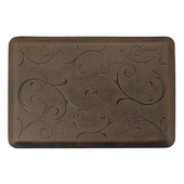 Motif Bella Collection Anti-Fatigue Floor Mat in Antique Dark, 36''W x 24''D x 3/4''H
