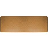 2011 Motif Collection - Trellis Wellness Mat, 72'' W x 24'' D x 3/4'' H, Tan