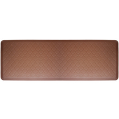 2011 Motif Collection - Trellis Wellness Mat, 72'' W x 24'' D x 3/4'' H, Brown