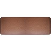 2011 Motif Collection - Trellis Wellness Mat, 72'' W x 24'' D x 3/4'' H, Brown