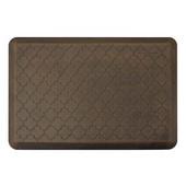 Motif Trellis Anti-Fatigue Floor Mat in Antique Dark, 36''W x 24''D x 3/4''H