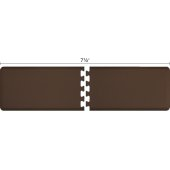 Original Collection PuzzlePiece R Series 7.5' x 2' in Brown, 90'' W x 36'' D, 3/4'' Thick