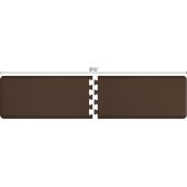 Original Collection PuzzlePiece R Series 8.5' x 2' in Brown, 102'' W x 36'' D, 3/4'' Thick
