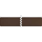 Original Collection PuzzlePiece R Series 9' x 2' in Brown, 108'' W x 36'' D, 3/4'' Thick