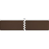 Original Collection PuzzlePiece R Series 9.5' x 2' in Brown, 114'' W x 36'' D, 3/4'' Thick