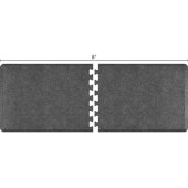 Granite Collection PuzzlePiece R Series 8' x 3' in Granite Steel, 96'' W x 36'' D, 3/4'' Thick
