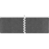 Granite Collection PuzzlePiece R Series 9' x 3' in Granite Steel, 108'' W x 36'' D, 3/4'' Thick