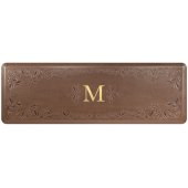Signature Collection Heirloom 6' x 2' Anti-Fatigue Floor Mat in Antique Light with Tan Base, 72'' W x 24'' D x 3/4'' Thick