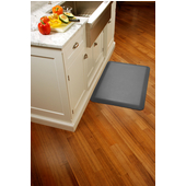 Original Collection Smooth Surface 3' x 2' Anti Fatigue Mat in Grey, 36'' W x 24'' D x 3/4'' Thick