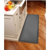 Original Collection 6' x 2' Anti-Fatigue Floor Mat in Grey, 72'' W x 24'' D x 3/4'' Thick