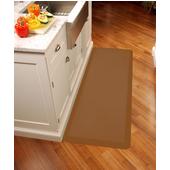 Original Collection 6' x 2' Anti-Fatigue Floor Mat in Tan, 72'' W x 24'' D x 3/4'' Thick
