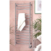 Chrome Eutopia 14-Rail Towel Warmer 19-3/4''W x 49''H, Chrome, Electric