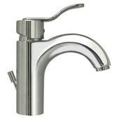 Single Hole/Single Level Bathroom Faucet in Polished Chrome