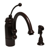 New Horizon Kitchen Faucet w/ Side Spray, Oil Rubbed Bronze