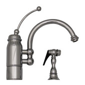 New Horizon Kitchen Faucet w/ Side Spray, Polished Chrome
