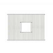 Grid Drain, Stainless Steel, 21''W x 15''D