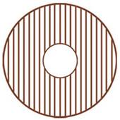 - Round Copperhaus Sink Grid, 18'' Dia