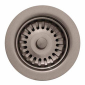 Kitchen Sink 3-1/2'' Basket Strainer, Brushed Nickel