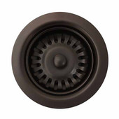 Kitchen Sink 3-1/2'' Basket Strainer, Oil Rubbed Bronze